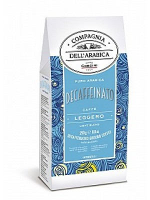 Corsini Pure Arabica Decaffeinato mletá 250g (6225)
