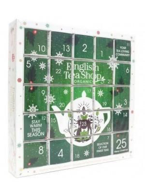 ETS Zelený adventný kalendár Puzzle 25 sáčkov