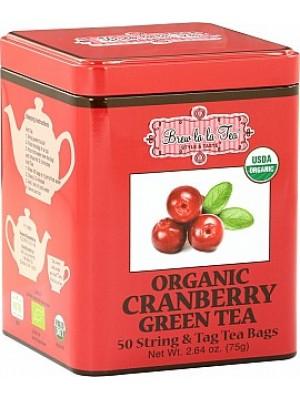 BREW LA LA TEA BIO Green Organic Cranberry  50x1,5g (2502)