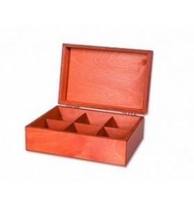 Krabice drevené, tašky